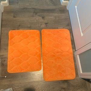 Other - Orange Bath Mats